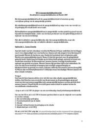 AUTRE: Uitwerking werkcolleges Aansprakelijkheidsrecht