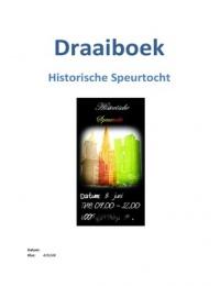 OTHER: Draaiboek organisatie speurtocht