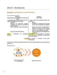 SUMMARY: Essentials Teamwerk en Beslissen