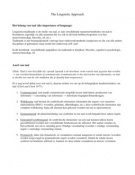 SUMMARY: Samenvatting Hoofdstuk 9 van 'Cognitive Science, an Introduction to the Study of Mind' 2e ed.