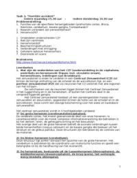 SAMENVATTING: Uitwerkingen onderwijsgroepen geneeskunde, blok 1.4: Denken en Doen I