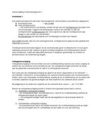 SUMMARY: Samenvatting Praktisch Ondernemingsrecht -- Ondernemingsrecht 1