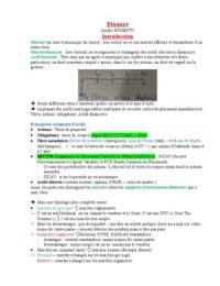 NOTES DE COURS: Finance L3 S5