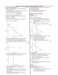 SUMMARY: ECS2601 - Microeconomics Textbook Summary