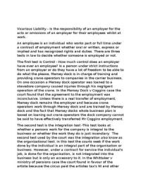 vicarious liability stuvia essay 4 60 vicarious liability
