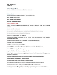LECTURE NOTES: Corporate Financial Strategy Full Revision Guide (MSIN 3017)