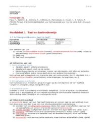 SAMENVATTING: Samenvatting Portaal: praktische taaldidactiek voor het basisonderwijs (2014)