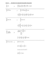 SUMMARY: hoofdstuk 20 integralen oefenening bepaalde integralen 20.4.2