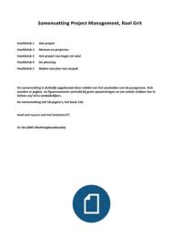 PROJECT PDF MANAGEMENT GRIT ROEL