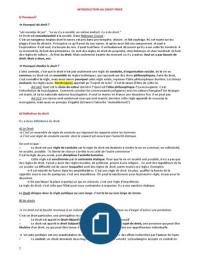 NOTES DE COURS: Droit Privé