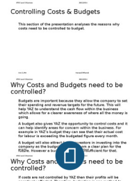m4 unit 2 analyse the reasons Analyse the reasons why costs need to be controlled to budget sell what do you want to do upload document create flashcards  search login add to cart - £250 unit 2 m4 - analyse the reasons why costs.