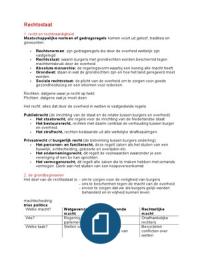 SUMMARY: Rechtsstaat havo 4