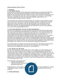 SUMMARY: Samenvatting Taal in Actie - Pragmatiek