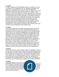 ZUSAMMENFASSUNG: Iwein, Zusammenfassung der wichtigsten Schwerpunkte und Inhalt