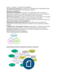 operations management study notes Download production and operations management notes for mba pdf students can download 2nd sem production and operations management study materials pdf.