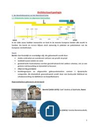 SAMENVATTING: Vastgoed - Architectuurtypologie, D. Gijsemans, 2e jaar