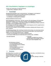 SAMENVATTING: Ontwikkelingspsychologie I