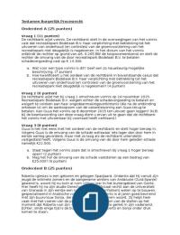 Exam: BPR Tentamen met antwoorden - 7 december 2015
