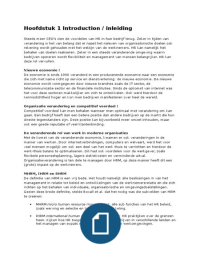 SAMENVATTING: Strategic Human Resources Management
