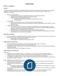 Exam: Public Law - Conceptual Framework