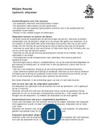 OVERIG: KNVB opdr. Afspraken