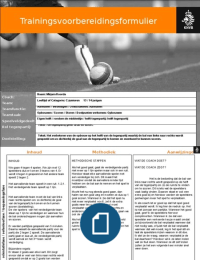 OVERIG: KNVB Training 4-4