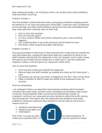 btec business level 3 unit 4 p4