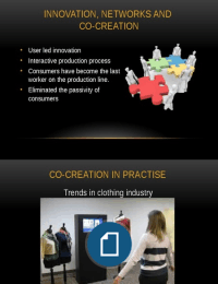 PRESENTATION: Co-creation