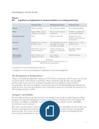 SAMENVATTING: Samenvatting Legaliteit en legitimiteit - De grondslagen van het recht