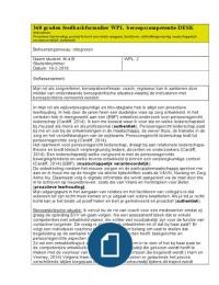 360 Graden Feedbackformulier Integreren Desk Verpleegkunde Stuvia
