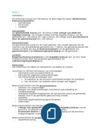 SUMMARY: materieel bestuursrecht