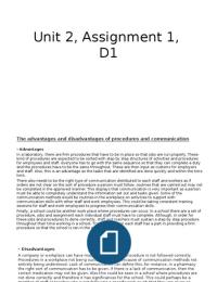 ESSAY: Unit 2, d1