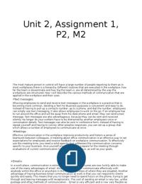 ESSAY: Unit 2, p2,m2