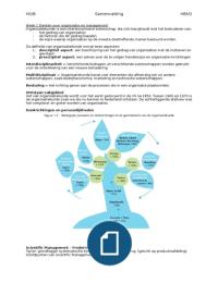 SAMENVATTING: Samenvatting Organisatiekunde (MOB)