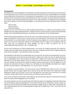 LECTURE NOTES: Grondslagen van het recht hoorcolleges week 1 t/m 6, behalve 4