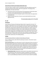 ESSAY: Unit 16 - Human Resource Management in Business - P1 P2 M1