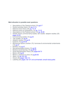 Exam: CMY3701 Exam question mark allocations with details