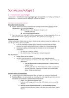SAMENVATTING: Samenvatting sociale psychologie 2