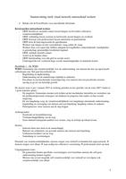 SUMMARY: Samenvatting sterk met een vitaal netwerk, hoofdstuk 1, 4, 5 en 6