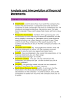 SUMMARY: Grade 12 Accounting -Paper 2 (Companies and Financial Ratios)