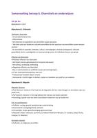 SUMMARY: Samenvatting van 7 lessen Beroep 6