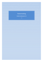 SUMMARY: Onderwijskunde 1b (OWK)