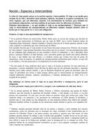 RESUME: Notion Bac ES - Espaces & Echanges