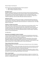 SUMMARY: Samenvatting Research Design in Social Research - Vaus