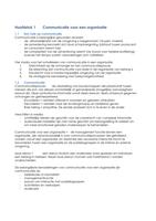 SUMMARY: Organisationele Communicatie: samenvatting Geïntegreerde Communicatie