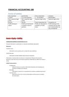 SUMMARY: Financial Accounting 188 - Summary