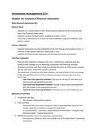 SUMMARY: Investment management 314 - Summary