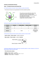 Topic 1 the atomic structure and periodic table revision notes topic 1 the atomic structure and periodic table revision notes 2015 unit 1 atomic structure and the periodic table stuvia urtaz Image collections