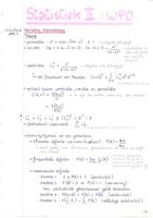 Antwoorden: Statistiek II - Notities