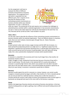 p5 business to business unit 3 For p5, learners should include descriptions of at least two economic topics in m2, p5 is developed further to compare the challenges to selected business activities in two different economic environments.